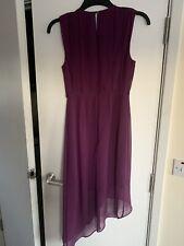 Bnwt Ladies Warehouse Purple Dress Size 8