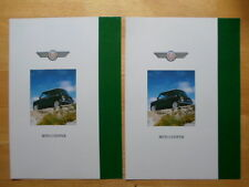 MINI COOPER rare c1992 Swiss Mkt Sales Brochures x2 with German & French text