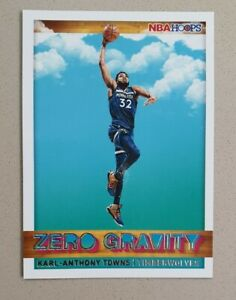 2019-20 Panini NBA Hoops ZERO GRAVITY #17 Karl-Anthony Towns - Timberwolves- M