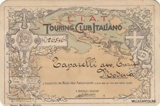 * TOURING CLUB ITALIANO LIAT - Tessera di Riconoscimento 1912 Avvocato di Modena