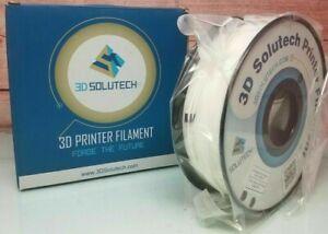 3D Solutech Real Black 3D Printer PLA Filament 1.75MM Filament, 2.2 lbs - NEW