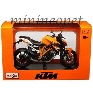 MAISTO 32710 KTM 1290 SUPER DUKE R BIKE MOTORCYCLE 1/12 ORANGE