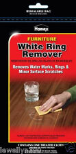 Homax White Ring Remover 1 cloth - Removes Water Marks & Minor Surface Scratches