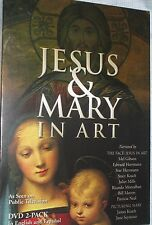 Jesus and Mary in Art New Sealed 2 DVDs Face of Jesus in Art Picturing Mary PBS