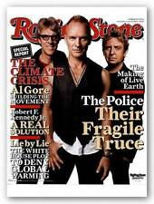 MUSIC POSTER Rolling Stone Cover The Police