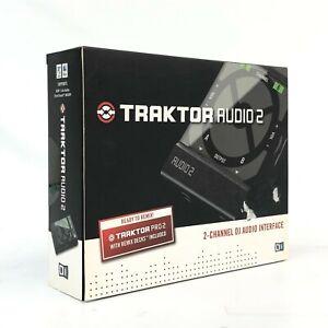 Native Instruments Traktor Audio 2 2-ch DJ Audio Interface - New Unopened - TGHM