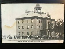 Vintage Postcard>1913>Maine Central Institute>Pittsfield>Maine