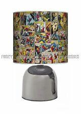 MARVEL AVENGERS COMIC STRIP BOOK ☆ BEDSIDE TOUCH LAMP ☆ BOYS NIGHT LIGHT ☆