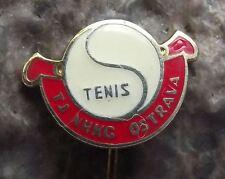 Vintage TJ NHKG Ostrava Tennis Club Ball Motif Club Membership Pin Badge