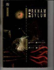 Batman Arkham Asylum DC Comics Graphic Novel Comic Book HARDCOVER Joker JS1