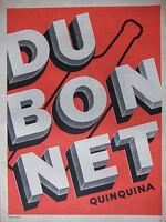 PUBLICITÉ DE PRESSE 1956 DUBONNET QUINQUINA - D'APRÈS VIRTEL - ADVERTISING