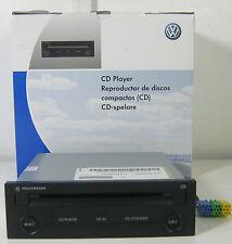 GENUINE VW GOLF LUPO POLO T5 SHARAN PASSAT DASH MOUNTED SINGLE CD PLAYER GAMMA