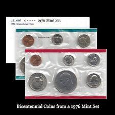 1976 P+D US Mint Set Eisenhower Kennedy Washington Roosevelt Jefferson Lincoln
