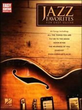 Jazz Favorites for Easy Guitar Learn to Play TAB Book
