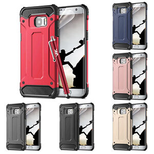 For Samsung Galaxy Phone Case Shockproof Armor Rugged Hybrid Hard Back Cover