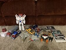 Transformers Lot Optimus Prime Jetfire Bumblebee