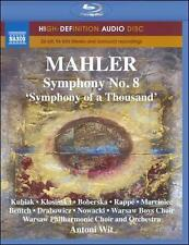 Mahler~Symphony No. 8 (Blu-ray) NEW **Free Shipping**