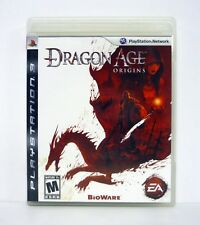 DRAGON AGE: ORIGINS PlayStation 3 PS3 Game COMPLETE w/MANUAL 2009