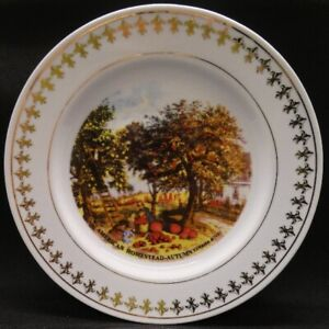 American Homestead -  Autumn Currier & Ives 1995 Limited Edition