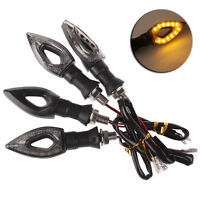 4 X Clignotants a led pour moto ou scooter quad 12 LED