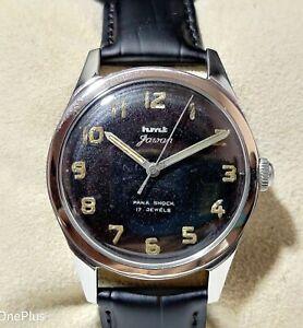 Vintage HMT Jawan (Military) 35mm Hand Winding 17 Jewels Men's Wrist Watch IR151