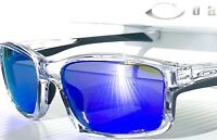 NEW* OAKLEY CHAINLINK Crystal CLEAR Purple Violet Iridium Sunglass 9247-06