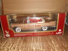 Road Legends 1958 Cadillac Eldorado Biarritz Die Cast Car in Box 1/18