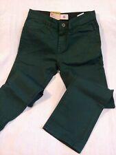 Levi's Boys 511 Slim Jeans Size 14 R Five Pocket Green 27 x 27 - ponderosa pine