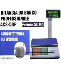 Bilancia elettronica con braccio e display LCD 50 kg stampa scontrino bilance