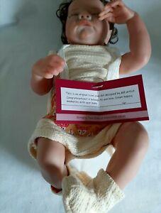 Costom Reborn Baby Doll Boy 17 Inch Preowned
