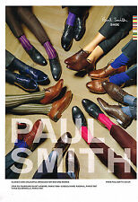 PUBLICITE ADVERTISING 035  2010  PAUL SMITH   chaussures homme  & femme