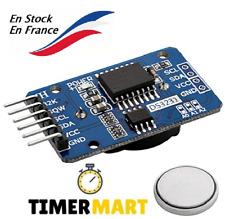 DS3231 Real Time Clock RTC I2C Horloge en Temps Réel avec batterie RTC TimerMart