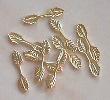 100 pequeños (22 MM) bolas de hoja de oro plateado, resultados para la fabricación de joyas Artesanías