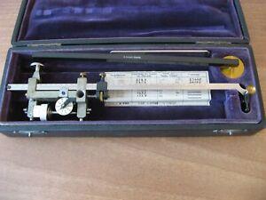 Antique Planimeter - G. Coradi - Zurich 1908