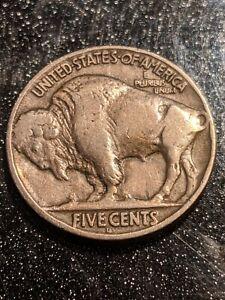 1918-D Denver Mint Buffalo Nickel Ch VF