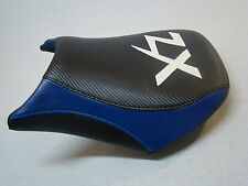 KAWASAKI ZX636 FRONT SEAT COVER 05 06  BLACK/BLUE/WHITE