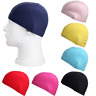 Durable Unisex Swim Cap Fabric Elastic Swimming Bathing Hat Accessories