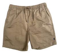 Ripcurl Volley Medium Shorts Tan Mens Casual Size 34 Waist