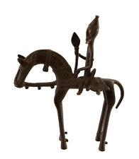 Cavalier Dogon Bronze du Mali Art Africain -21 cm  AA 1129