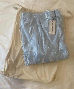 Mr Winston Baby Blue Trackpants Size Small