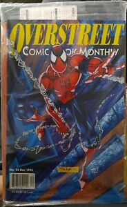 '94 Overstreet Monthly #20 SPIDER-MAN cover, '95 Fleer Ultra X-Men promo bagged