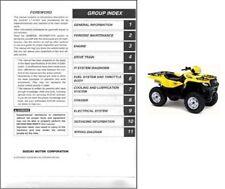 2005-2006-2007 Suzuki KingQuad 700 ( LT-A700X ) ATV Service Manual on a CD