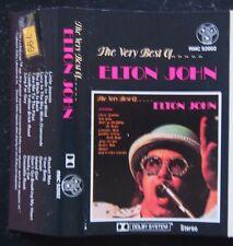Cassette - Elton John, The Very Best of Elton John - DJM Records RMC52002