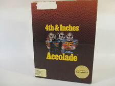 Commodore Amiga 4TH & INCHES Computer Game by Accolade!!