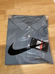 New With Tags Nike Dri Fit Mens Large Polo Shirt
