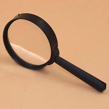 1PCS 5X 60mm Hand Held Reading Magnifying Glass Lens Jewelry Loupe Zoomer