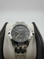 New Raymond Weil Mens Tango Swiss Grey Dial Silver Watch 8160-ST-00608 MSRP $995