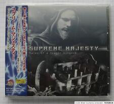 SUPREME MAJESTY – Tales Of A Tragic Kingdom + 1 JAPAN CD OBI RAR! KICP-863