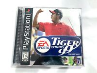 Tiger Woods 99 PGA Tour Golf 1999 Complete CIB Sony PlayStation 1 PS1 Game