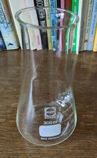 >>> Erlenmeyerkolben SCHOTT DURAN 300 ml Glaskolben Chemie Glasgefäß